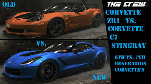 camaro zl1 vs corvette zr1 lets play the crew part 88 vs corvette zr1 vs
