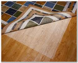 Area Rug Padding Hardwood Floor Attractive Inspiration Non Slip Rug Pads For Hardwood Floors
