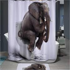 Curtain Fabric Shops Melbourne Online Get Cheap Elephant Shower Curtain Aliexpress Com Alibaba