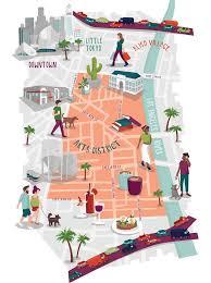 map of downtown los angeles best 25 downtown la walk ideas on berlin tourist