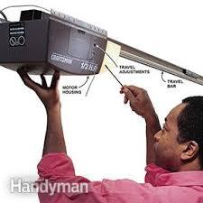 How To Adjust A Craftsman Garage Door Opener by Garage Door Won U0027t Close Family Handyman