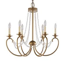 hampton bay crystal chandelier hampton bay estelle 6 light gold hanging chandelier hd13811l6chpc