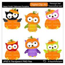 halloween clipart cute collection owl and pumpkin clipart clipartxtras