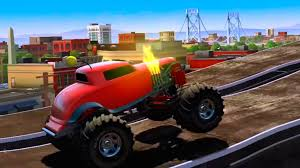hill climb racing monster truck mmx hill climb monster trucks racing cars for kids youtube