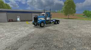 kenworth truck cab kenworth w900l day cab truck v1 0 farming simulator 2017 2015