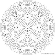 don u0027t eat the paste knotted shamrock to color or embroider