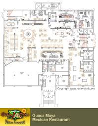 Floor Plans With Measurements Restaurant Design Projects Restaurant Floor Plans F Plan
