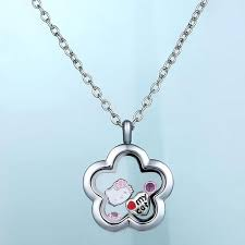 s day locket discount floating locket pendant living memory glass cz
