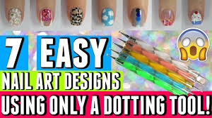 7 great ideas in nail art that only require dotting tools nail