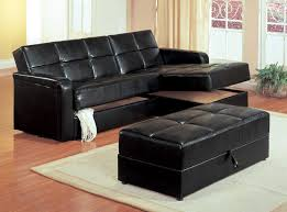 living room brown leather square storage ottoman large sectional