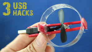 3 incredible usb gadgets you can make at home life hacks youtube