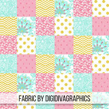 Backyard Baby Fabric by Gold Pink Floral Cheater Quilt Fabric By The Yard Baby