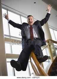 Sliding Down Banister Businessman Sliding Down Railing Stock Photos U0026 Businessman