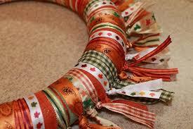 fall ribbon easy fall ribbon wreath