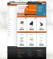 furniture website design artistic color decor amazing simple to