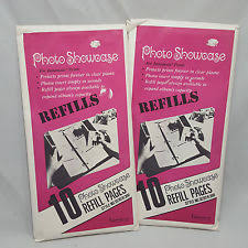 Refill Pages For Photo Albums Photo Album Refills Ebay