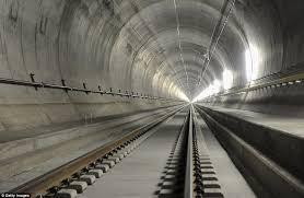 tunnel world u0027s longest railway tunnel in switzerland will travel at