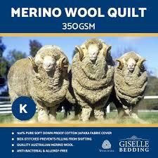 Australian Duvet Sizes All Size 100 Australian Merino Wool Quilt 350 500 700 Gsm Doona