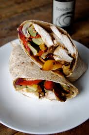Mediterranean Style Roasted Vegetables Roasted Vegetable U0026 Balsamic Chicken Wrap U2026and Challenge Update 3