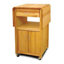 Drop Leaf Kitchen Island Cart by Drop Leaf Kitchen Cart Small Black Kitchen Cart With Drop Leaf