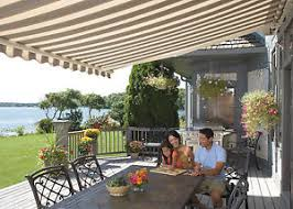Deck Awnings Retractable 20 Ft Sunsetter Motorized Xl Retractable Awning Shade For Your