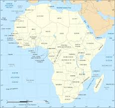 Political Map Africa by Map Of Africa Political Map English Worldofmaps Net Online