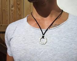 ring necklace men images Ring necklace men etsy jpg