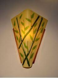 Bamboo Sconce Sconces Artisan Crafted Home