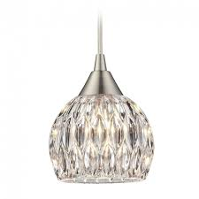 small chandelier pendant lighting chandelier crystal mini pendant light with clear glass 10342 1