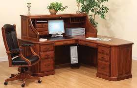 Corner Roll Top Desk Fifth Avenue Executive Corner Roll Top Desk
