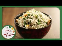 Main Dish Rice Recipes - quick veg pulao indian recipe by archana popular spicy main