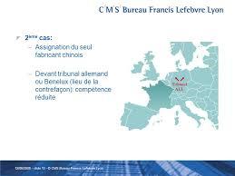 cms bureau francis lefebvre lyon le contentieux des dessins et modeles communautaires par jean