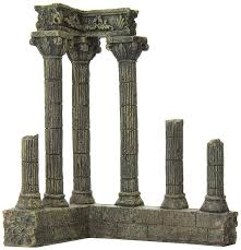 amazon com aquatic creations corner columns for aquarium