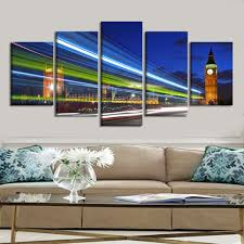 online get cheap london view aliexpress com alibaba group drop shipping large landscape canvas painting home decor wall art canvas prints poster london city night