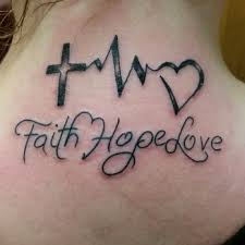faith hope and love tattoos designs ideas and meaning tattoos