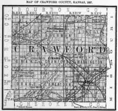 Kansas Counties Map Crawford Ks Map Wiring Get Free Images About World Maps