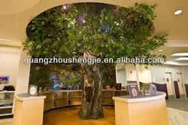 beautiful indoor trees contemporary interior design ideas