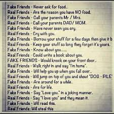 Fake Friends Memes - fake friends vs real friends