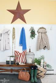 Barn Star Kitchen Decor by Christmas House Tour Mudroom Kitchen And Family Room The