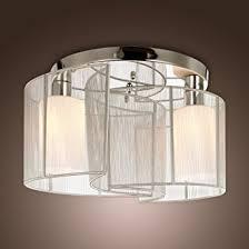 Glass Ceiling Light Fixtures Lightinthebox 2 Light Semi Flush Mount Ceiling Light Fixture With