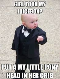 Popular Internet Meme - mafia baby popular meme