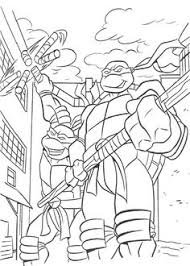 teenage mutant ninja turtles kids coloring pages free