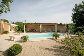 in luberon for sale bright one storey house with swimming pool