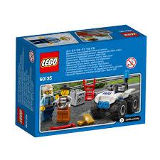 si e auto age 60135 lego city atv arrest 47 pieces age 5 12 release for