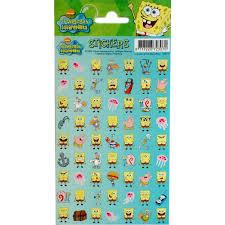 spongebob stickers radar 100177 pack of 63 pieces