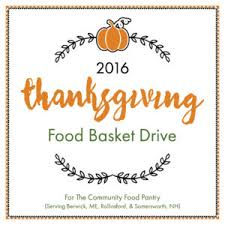 2016 thanksgiving food basket drive steps early learning