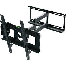 Tv Wall Mount Ematic Full Motion Tv Wall Mount Kit With Hdmi Cable For 19