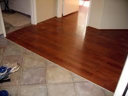 affordable tile to wood floor transition ceramic wood tile