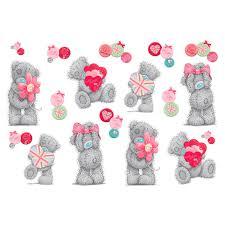 child s wall sticker tatty teddy love funtosee child s wall sticker tatty teddy love funtosee