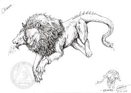 the monster in greek mythology chimera picture the monster in